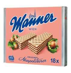 Mannerschnitten or Manner hazlenut wafers are a Viennese staple. Produced in the district and famous for their distinctive pink design, the company sponsors one of the 18 stonemasons who work on maintaining St Stephen's cathedral. Christmas Sangria, Christmas Ad, Sugar Cooking Icing, Cadbury Flake, Candied Orange Slices, Red Sangria Recipes, Christmas Planning, Cookie Icing, Cooking 101