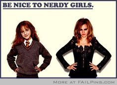 Be Nice To Nerdy Girls!