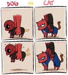 💙 Film: Spiderman and Deadpool ________________________________________ Avengers Humor, Marvel Avengers, Hero Marvel, Funny Marvel Memes, Marvel Jokes, Marvel Dc Comics, Funny Comics, Deadpool X Spiderman, Deadpool Comics
