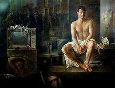 Fantástica artista realismo Alberto Pancorbo 17
