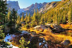 What a beautiful photograph. Description: Rocky Mountain National Park