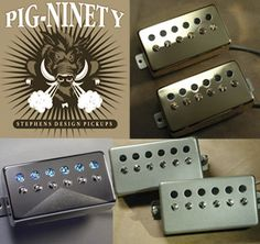 Specialty Single Coil Pickups: SD Pickups: Custom-Made, Hand Wound Guitar Pickups by Dave Stephens, Stephens Design Guitar Rig, Guitar Pedals, Guitar Pickups, Guitar Accessories, Pick Up Lines, Cigar, Sd, Guitars, Pots
