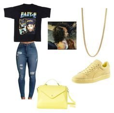"""🎯"" by princesskdot ❤ liked on Polyvore featuring Puma, Marc by Marc Jacobs and Paperthinks"
