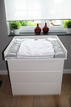 Changing unit, table top, Cot Top for IKEA Malm dresser NEW! Ikea Malm Dresser, Changing Unit, Ikea Hack, Cot, Baby Room, Kids Room, Bedroom, Furniture, Design