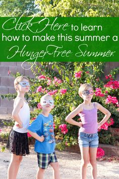 Learn about the #HungerFreeSummer initiative by Feeding America and what you can do to stop child hunger.