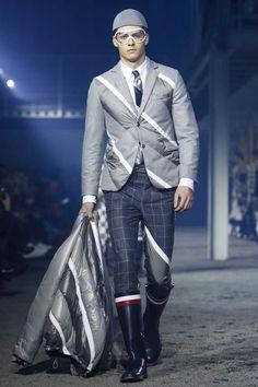 Moncler Gamme Bleu Menswear Fall Winter 2015 Milan