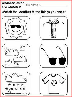 INGLES PARA NIÑOS (FICHAS): THE WEATHER