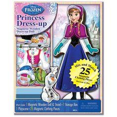 Disney Frozen Magnetic Dress-Up Doll Set