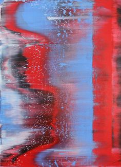 "Saatchi Art Artist Harry Moody; Painting, ""blackredblueabstract # 16"" #art"