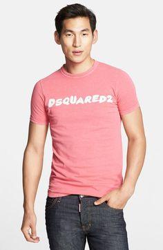 Men's Dsquared2 Washed Logo T-Shirt
