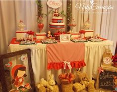 Little Red Riding Hood Birthday Party Ideas | Photo 7 of 13