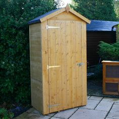 3'3 x 1'11 Windsor Wooden Sentry Box Shed (1.00x0.58m)