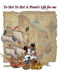 Pirates of Carribbean Night > Disney Magic Cruise Disney Mickey Mouse, Mickey Mouse E Amigos, Mickey Mouse And Friends, Disney Dream, Disney Love, Disney Art, Walt Disney, Orlando Disney, Disney Fantasy