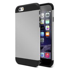 Funda armor iphone 6 plus gris