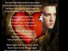 ▶ Elvis Presley - Thrill Of Your Love