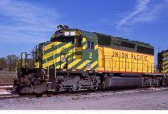 Union Pacific / MKT (Katy) SD40-2 Prototype 2