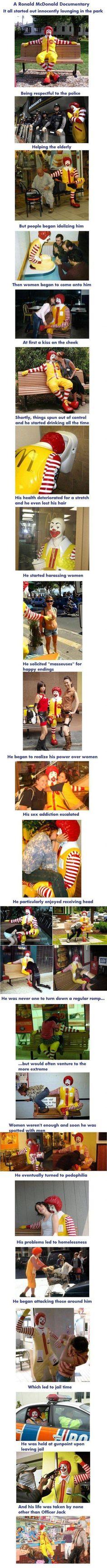 The Life of Ronald McDonald