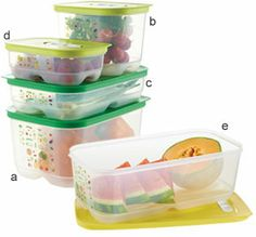 Keep veggies and fruits fresh longer. These are swsome! Tupperware | FridgeSmart(r) Containers