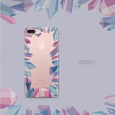 "M I L K Y W A Y C A S E S on Instagram: ""'Aura' by @okitssteph #crystals #gem #iphonecase available for all #iphones #milkywaycases WWW.SHOP-MILKYWAY.COM"""
