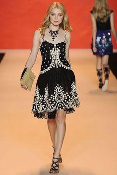 Anna Sui Spring 2009 Ready-to-Wear Fashion Show - Jessica Stam