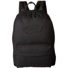 Vans Realm Backpack (Onyx) Backpack Bags