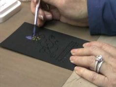 Ranger's Marketing Director Bonnie Egenton http://www.rangerink.com continues the Perfect Pearls Primer by showing you how to make a shimmering pearlescent paint and how to use the Perfect Medium Ink Pad for Watermarking.