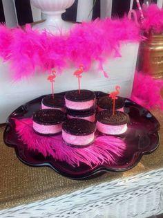 Chic Flamingo bridal shower food ideas