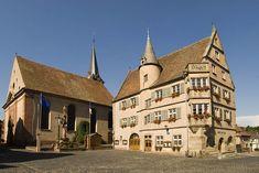 L'Hôtel de ville Renaissance de <i>Boersch</i>