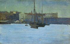 Dieppe Harbour, France Walter Richard Sickert (1860–1942)
