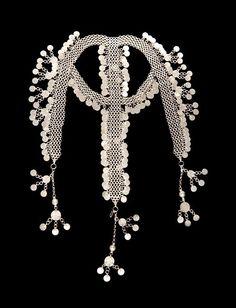 Syria   Silver headdress from Haran el Awamid, Dimashq