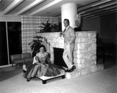 Alan Ladd with his wife