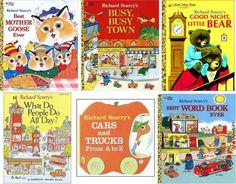 Richard Scarry books.