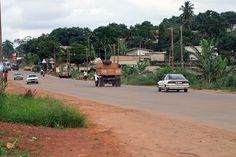 Yaounde road, Cameroon