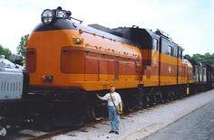 Milwaukee Road Bi-Polar E-2 Electric Locomotive.