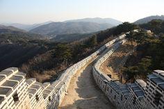 Puerta norte de Namhansanseong - Corea del Sur