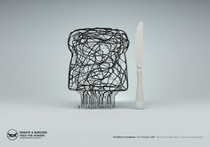Belgian Food Banks Ad Campaign: Donate a barcode. Feed the hungry