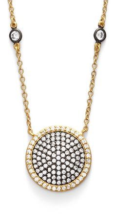 pave disc necklace - best of Nordstrom Anniversary Sale
