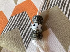 funky beads for roman blind pulls