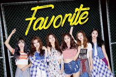 Novo grupo feminino, Favorite, revela imagens individuais para o seu debut
