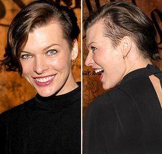 Milla Jovovich:Luv the hair