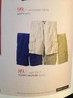 get some shorts!!!