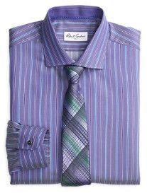 Robert Graham® Joel Stripe Dress Shirt