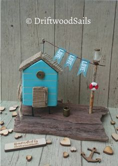 Check out this item in my Etsy shop https://www.etsy.com/uk/listing/505638729/handmade-salvaged-wood-beach-hut