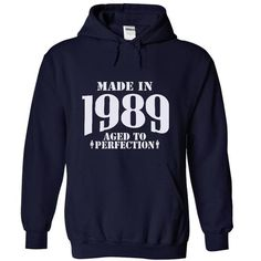 Made in 1989 - Aged Tshirts and Hoodies - #shirt girl #pink tee. TRY => https://www.sunfrog.com/LifeStyle/Made-in-1989--Aged-Tshirts-and-Hoodies-8235-NavyBlue-5630565-Hoodie.html?68278