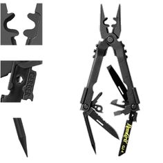 """Gerber MP600 Multi-tool... A must-have for the munitions expert or """"combat engineer"""" in YOUR family! (see also: http://www.wired.com/gadgetlab/2012/04/baddass-gadgets-13-stellar-examples-of-aggressive-hardware-design/?pid=3157)"""