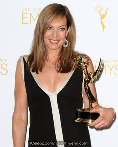 Allison Janney The Creative Arts Emmy 2014 arrivals http://icelebz.com/events/the_creative_arts_emmy_2014_arrivals/photo4.html