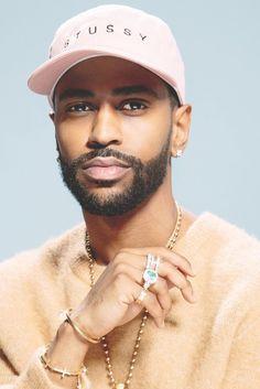 Big Sean (real name: Sean Michael Leonard Anderson, American rapper, b. Fine Boys, Fine Men, Big Sean, Black Power, Mode Hip Hop, Classic Men, Black Men Beards, Beard Gang, Black Boys