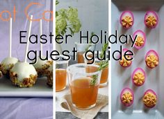 Easter Dinner Guest Guide via History & High Heels