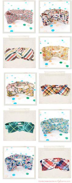 10 pretty bow ties