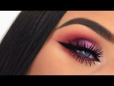 Huda Beauty Desert Dusk Palette | Half Cut Crease Makeup Tutorial - YouTube